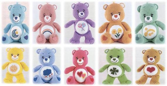 Amigurumi Care Bears Pattern : Pinterest