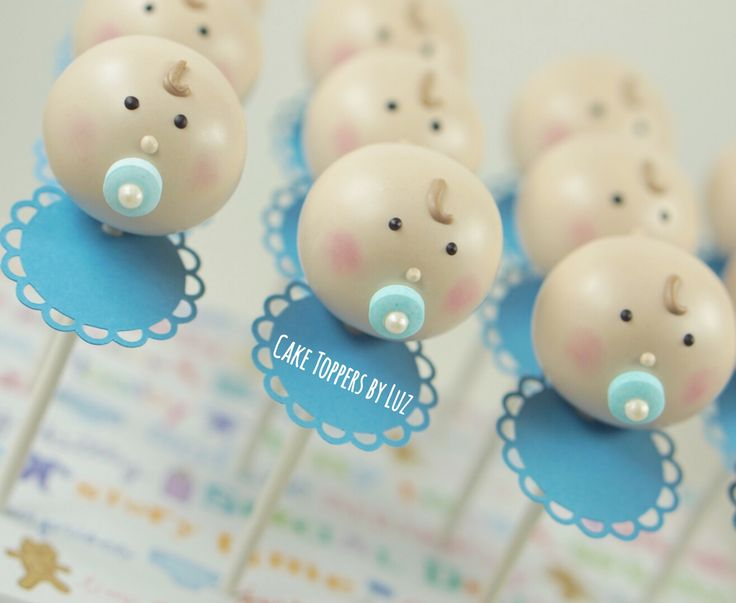 Baby Shower Cake Pops. Baby Cake Pops                                                                                                                                                                                 More
