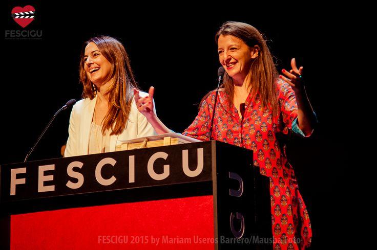 Cuca Escribano y Goizalde Nuñez. Gala de Clausura. Fecha: 03/10/2015. Foto: Mariam Useros Barrero/Mausba Foto.