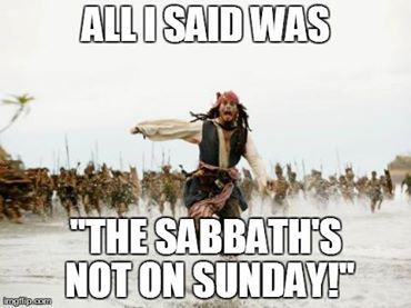 Amos 3:7-He does nothing without revealing it to His prophets first. The  prophets said the anti-messiah would change the Sabbath in Daniel 7:25. Yahweh does not change, and says His Sabbaths are a sign forever-read the torah and Ezekiel 20,...in the future we return to His 7th day Sabbath in Isaiah 66.