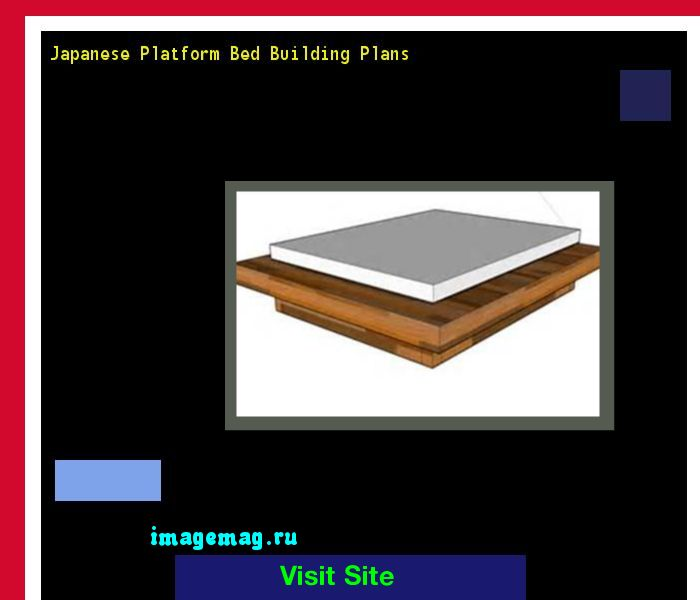 Japanese Platform Bed Building Plans 165607 - The Best Image Search