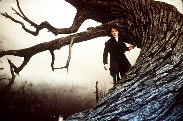 Johnny Depp's Movie Makeovers: Sleepy Hollow