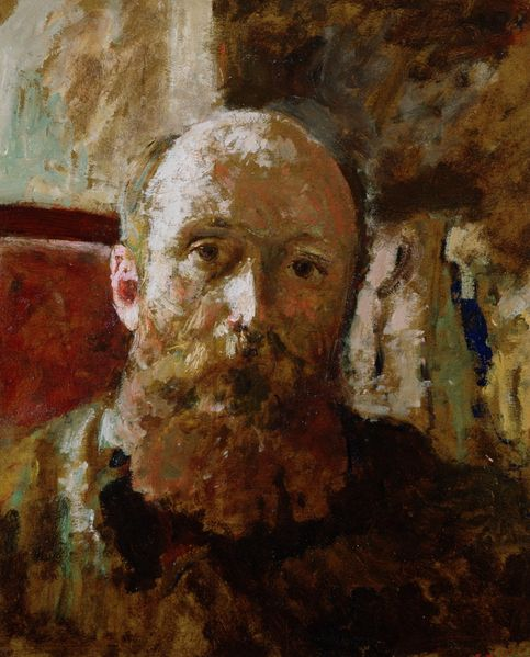 Edouard Vuillard / Self-portrait.
