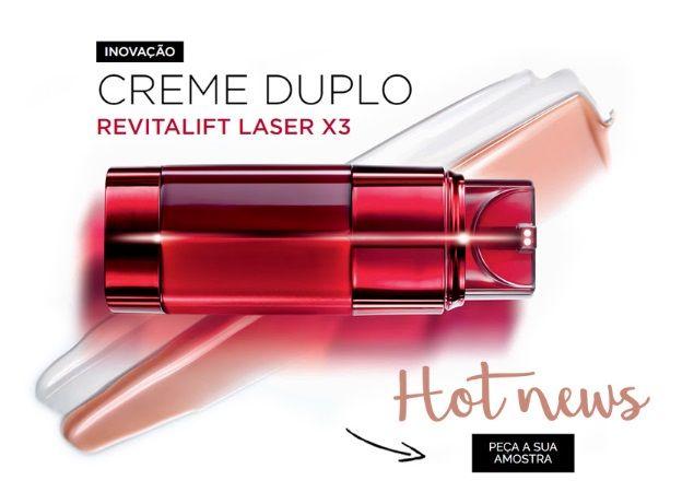 AMOSTRAS Revitalift Laser x3 by L'Oréal