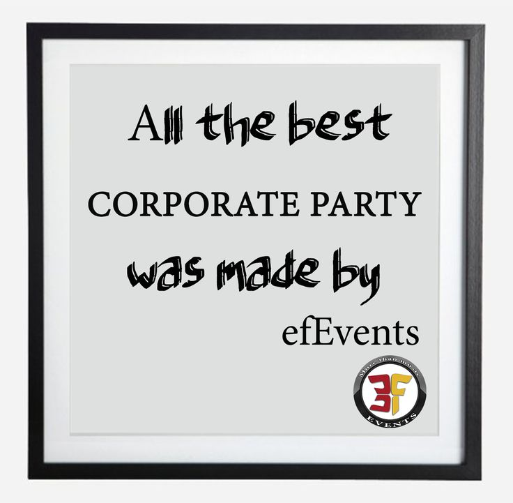 All the best corporate party was made by efevents! EF Events Production events  events Brasov  Entertainment MC Dj
