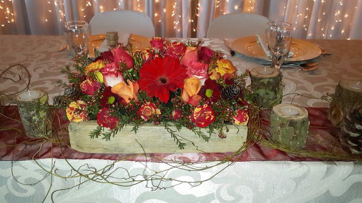Autumn wedding - Bridal table