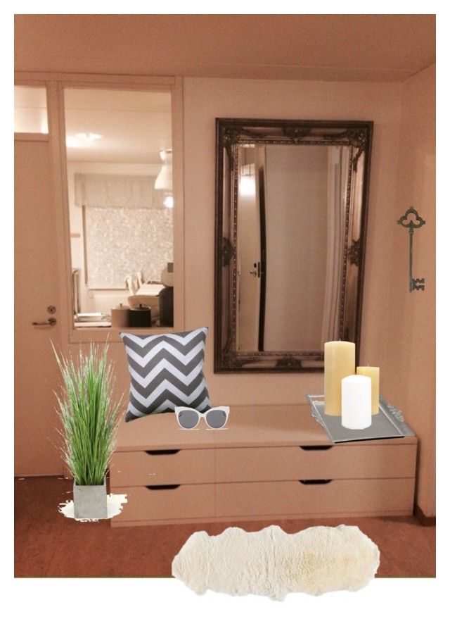 """""""Untitled #5"""" by zsuzsa-szekely on Polyvore featuring interior, interiors, interior design, home, home decor, interior decorating, Park Avenue Candles, Zara Home, Blanc & Eclare and Distinctive Designs"""