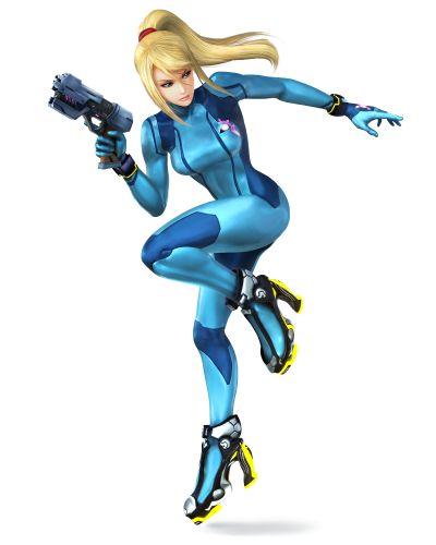 Zero Suit Samus - Super Smash Bros