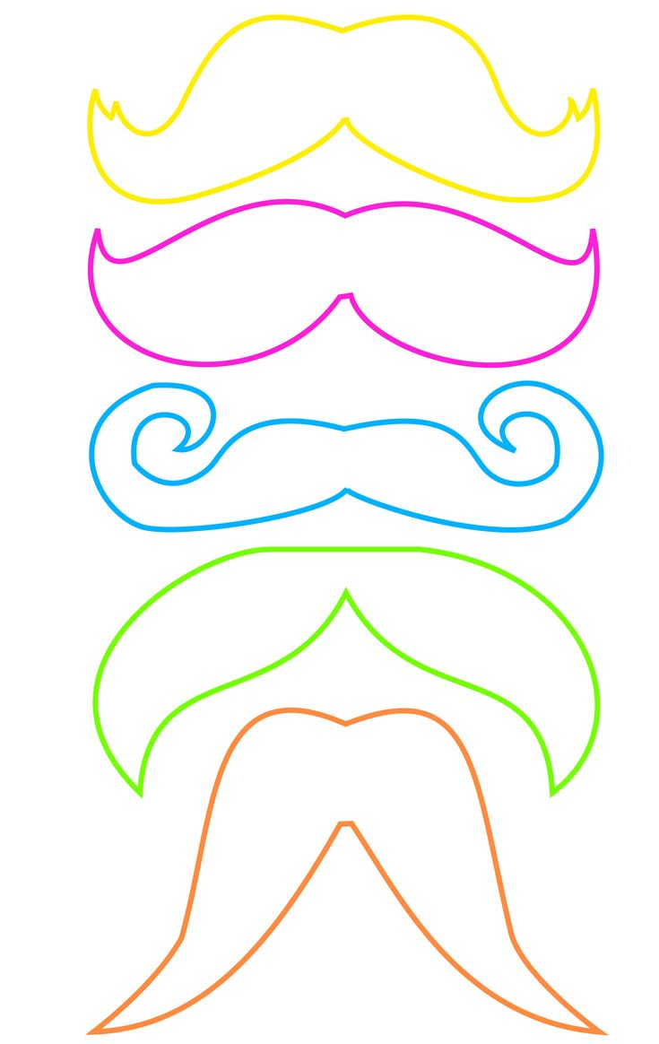 Bowties, Pipes, Lips, Googley Eyes, Moustaches, Glasses.