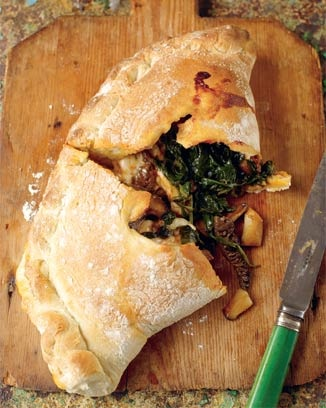Spinach Calzone - Jamie Oliver recipe. If it's from Jamie it's got to be good. Try.