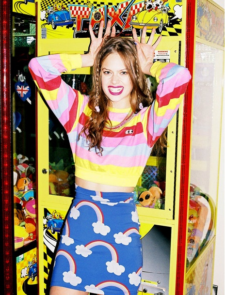 Rainbows Skirt