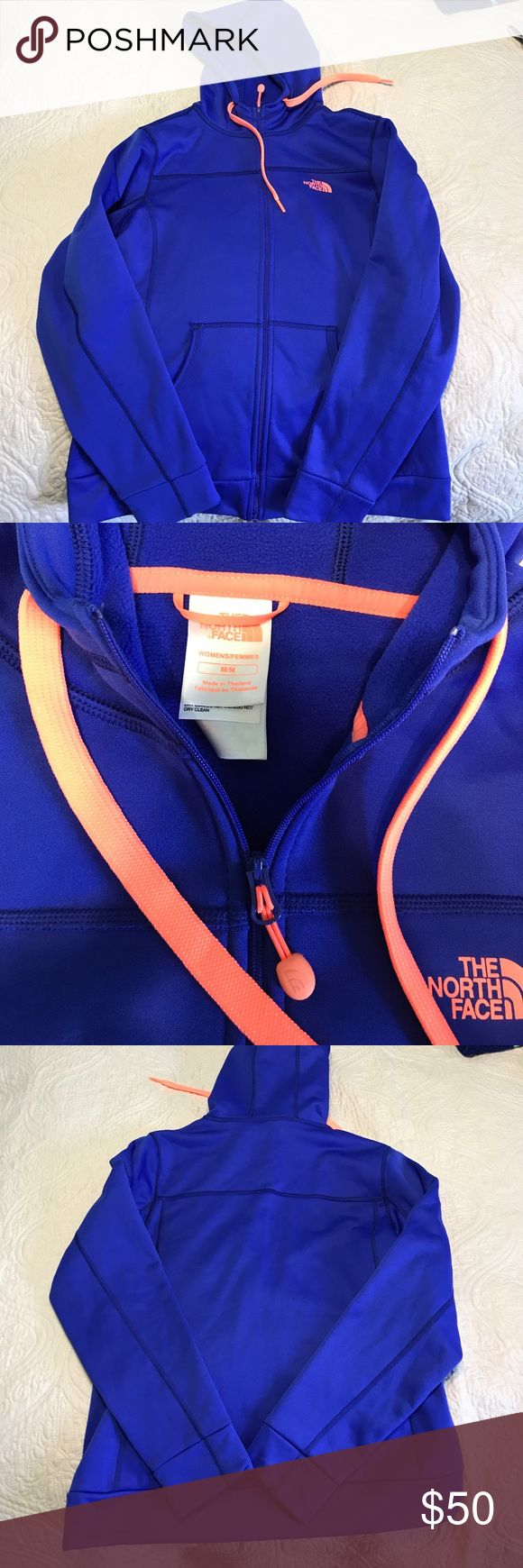 The North Face jacket Fleece inside, worn once, in really great condition! The North Face Jackets & Coats