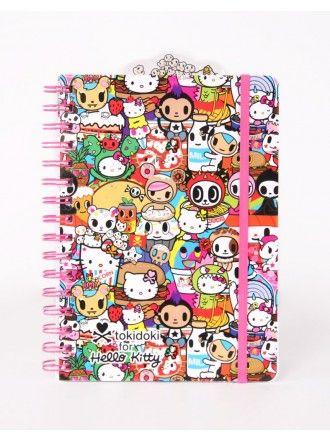 tokdoki x Hello Kitty Buffet Notebook
