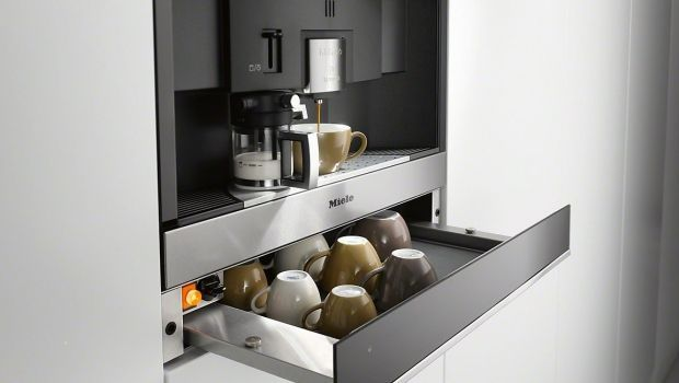 #lavorincasa . per una casa super stilosa, ecco le soluzioni da incasso per le nuove macchine del caffè...