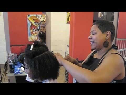 My Big Chop Video Footage!: Complete transition from relaxed to natural!!