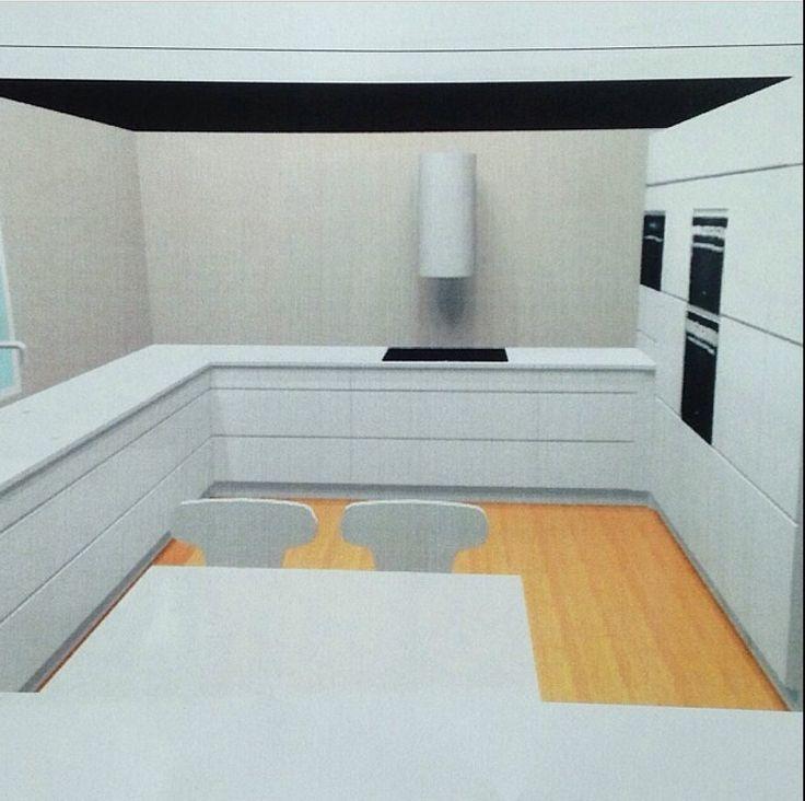 94 best Kjøkken inspirasjon images on Pinterest White kitchens