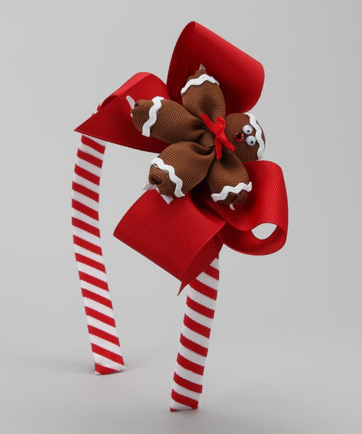 DO ---  Take a look at this Red Gingerbread Headband on zulily today!