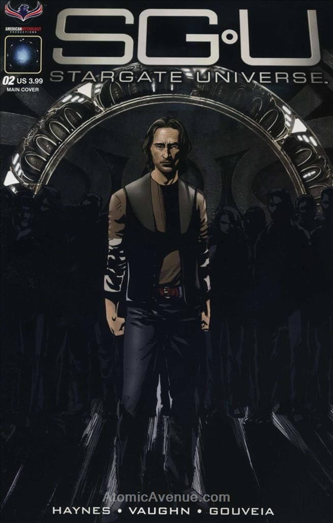 Stargate Universe Back To Destiny 2 Larocque Cvr Stargate Universe Stargate Science Fiction Tv Series