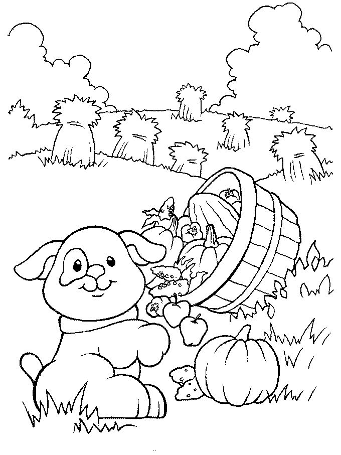 Farm Coloring Pages Print Printable Color Kids We Also Listed Another Images Related To
