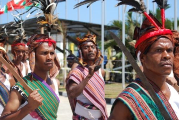 Traditional Clothing From Indigenous People Of Australia
