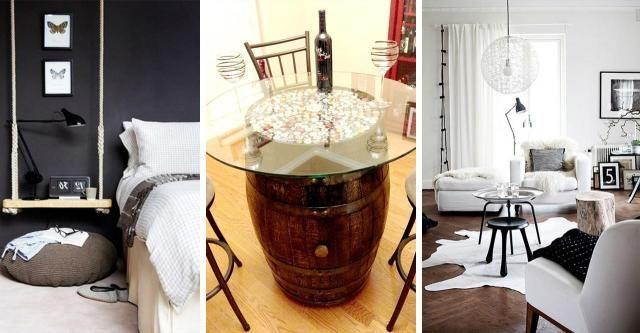 13 mebli zrobionych własnoręcznie - wykonasz je za grosze! #MEBLE #DIY #ZRÓBTOSAM #PALETA
