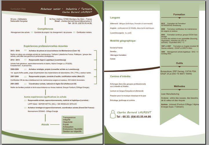 Pour rendre service à un client, #CV graphique