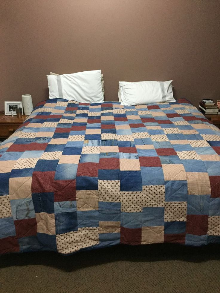 Quilted for Willma.