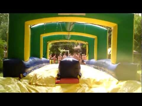 Flip Cup + Slip 'n Slide = SLIP CUP Drink, run, slip, and flip. Can't wait to do this.