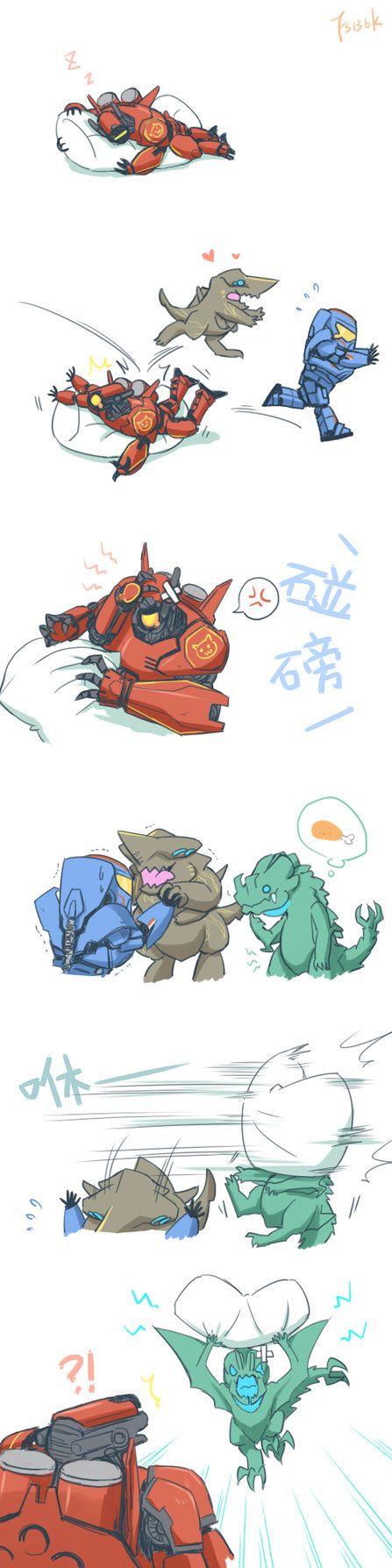 Cute Jaegers.