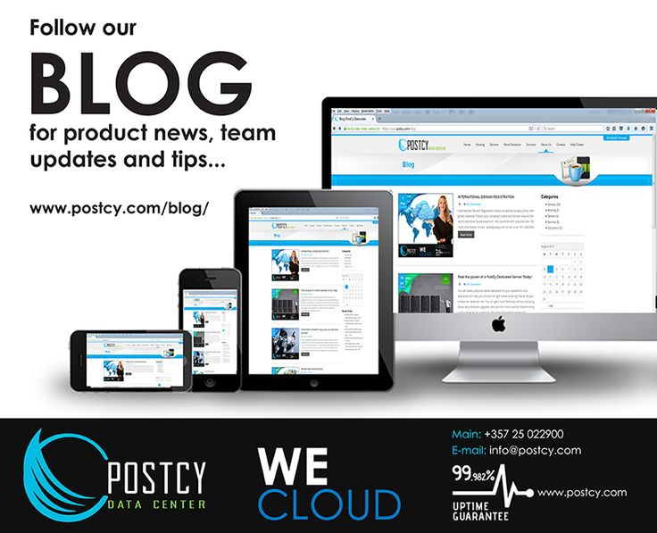 PostCy Blog - Product News, Team Updates and Tips  It's a great way to keep up with the latest Product News, Team Updates and Tips  Our mission is to bring the world the next generation in hosting solutions, with control and flexibility that are unsurpassed elsewhere in the industry. Driven by our customers' needs, we aim to offer services that are both innovative and affordable, using only the latest in technology.  Follow this Blog  www.postcy.com/blog/