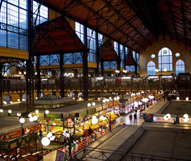 Budapest-On the second floor of the Great Market Hall (1-3 Vamhaz Korut; 36-1/366-3300) you'll find the city's best lángos, fried flatbread topped with sour cream, cheese, and garlic
