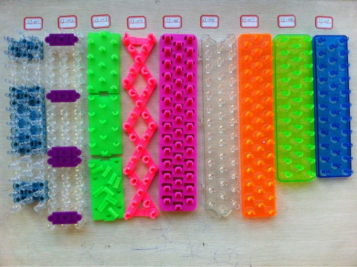 how to make lps bows out of loom bands