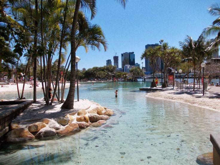 Brisbane lagoon, South Bank (Queensland Australia) Travel blog: http://varietyisthebeautyoflife.blogspot.com.au/