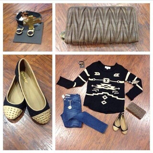 Apricot Lane Boutique - 601.707.5183 What a day to wear a cute outfit. @renaissanceatcolonypark #shoprenaissance #fall2013 #winter2013 #holi...