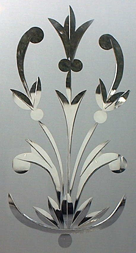 Etched Glass Designs For Kitchen Cabinets Wildlife