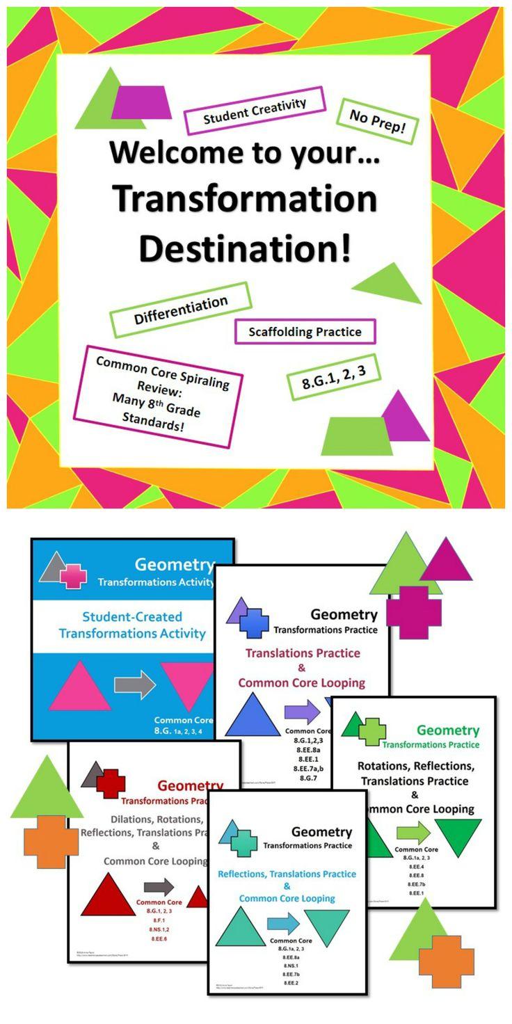 All Grade Worksheets Identifying Transformations Worksheet All – All Transformations Worksheet