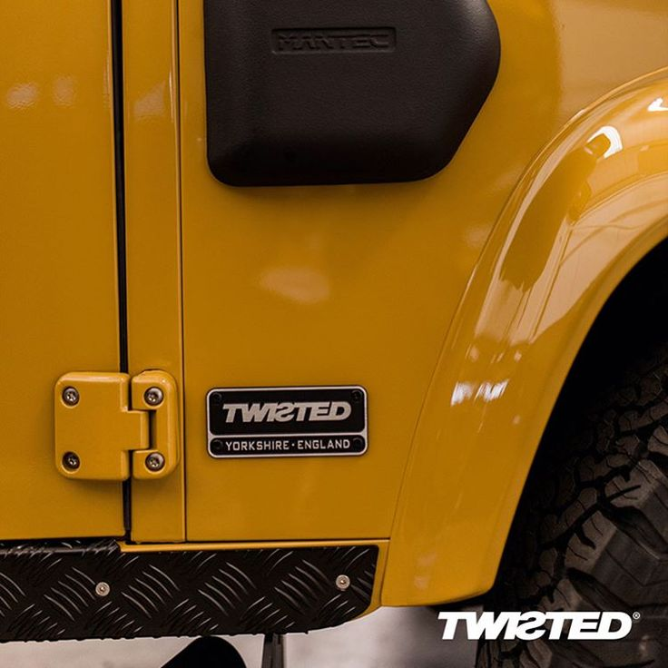 Introducing, Colonel Mustard. BF Goodrich All Terrain tyres, Twisted 16