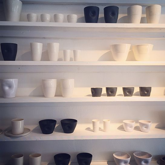 C. Jensen, Delia's & FAB.VISBY – Ceramics, textilies, herbs & spices and crafts -Gotlandstips.se