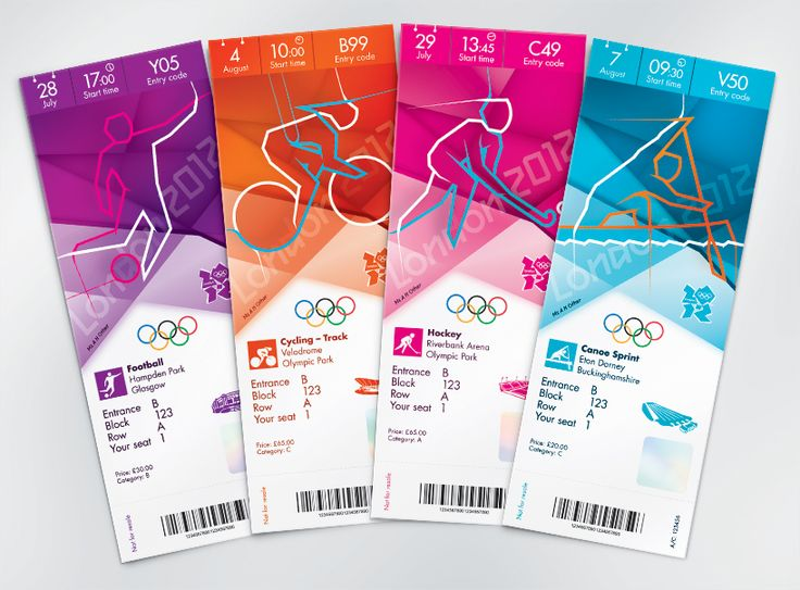 london olympics 2012: the look of the games_ticket