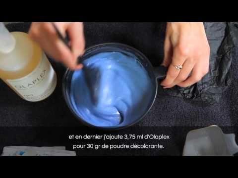 coloration dcoloration sans abmer olaplex meches violettes youtube - Coloration Sans Dcoloration