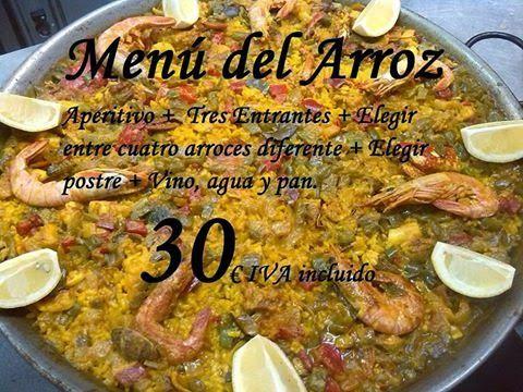 GASTRONOMÍA EN ZARAGOZA: Jornadas del Arroz en el Restaurante Antonio