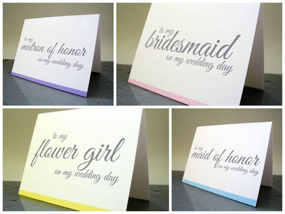 Thank You for Being My Bridesmaid, Maid of Honor, Flower Girl Bridesmaids Thank You Cards, Bridesmaid Thank You Gift Card (Set of 6) on Etsy, $12.00