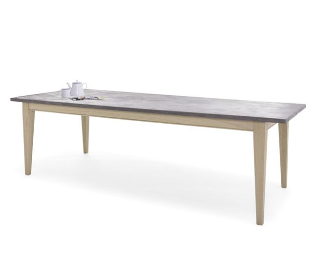 Conker | Concrete Top Kitchen Table | Loaf