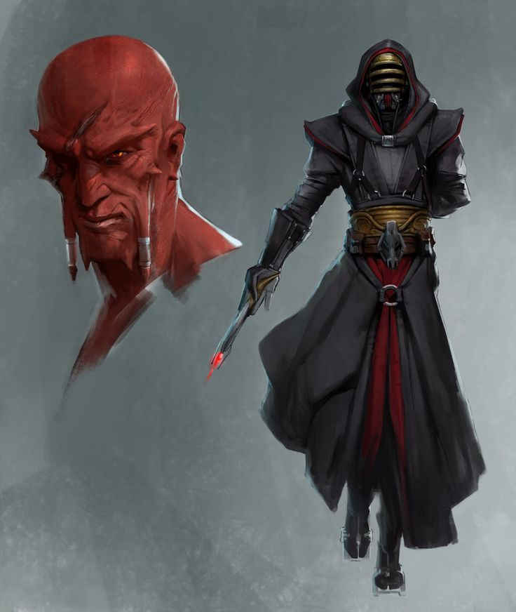 Star Wars TOR - Sith Assassin, Vindican // by Joshua James Shaw
