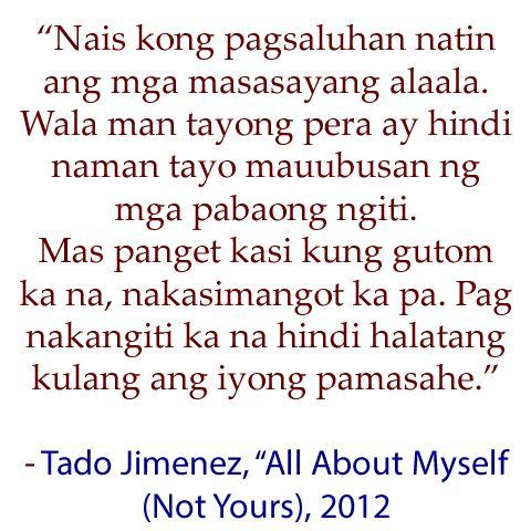 Tagalog Love Quotes - Tagalog Quotes - Love Quotes Tagalog | Mr.Bolero - Part 4