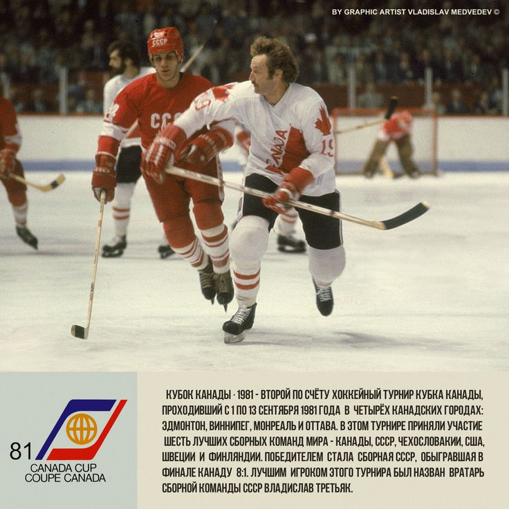 100% 1981 Canada Cup, champion team USSR. Final USSR - Canada 8-1 | Russian Red Machine