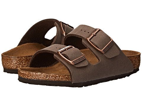 Birkenstock Arizona Sandal in Mocha #Birkenstock  #Birkenstock #shoes #fashion #casual #kids #sandals