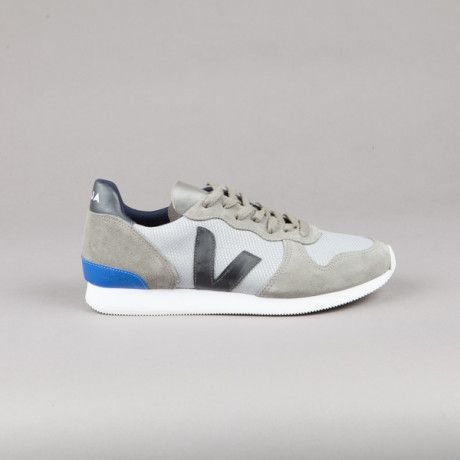 Veja Holiday Low Top B Mesh Silver Grey Black Men's Trainers - Trouva