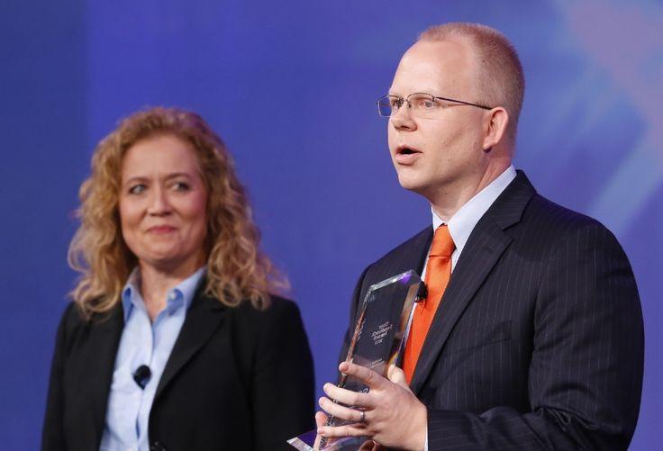 User Feedback winner Andrew Lynch of JP Morgan Chase helped improve SAS High-Performance Analytics - SAS Users Groups