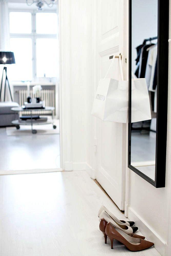 magnolia by Mia: White hallway
